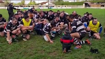 Rugby : le cri de victoire des Couchois