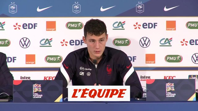 Pavard : « On a très bien défendu » - Foot - Ligue des nations