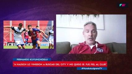 """""""A Hausch lo vino a buscar el Manchester City y no se quiso ir"""""""