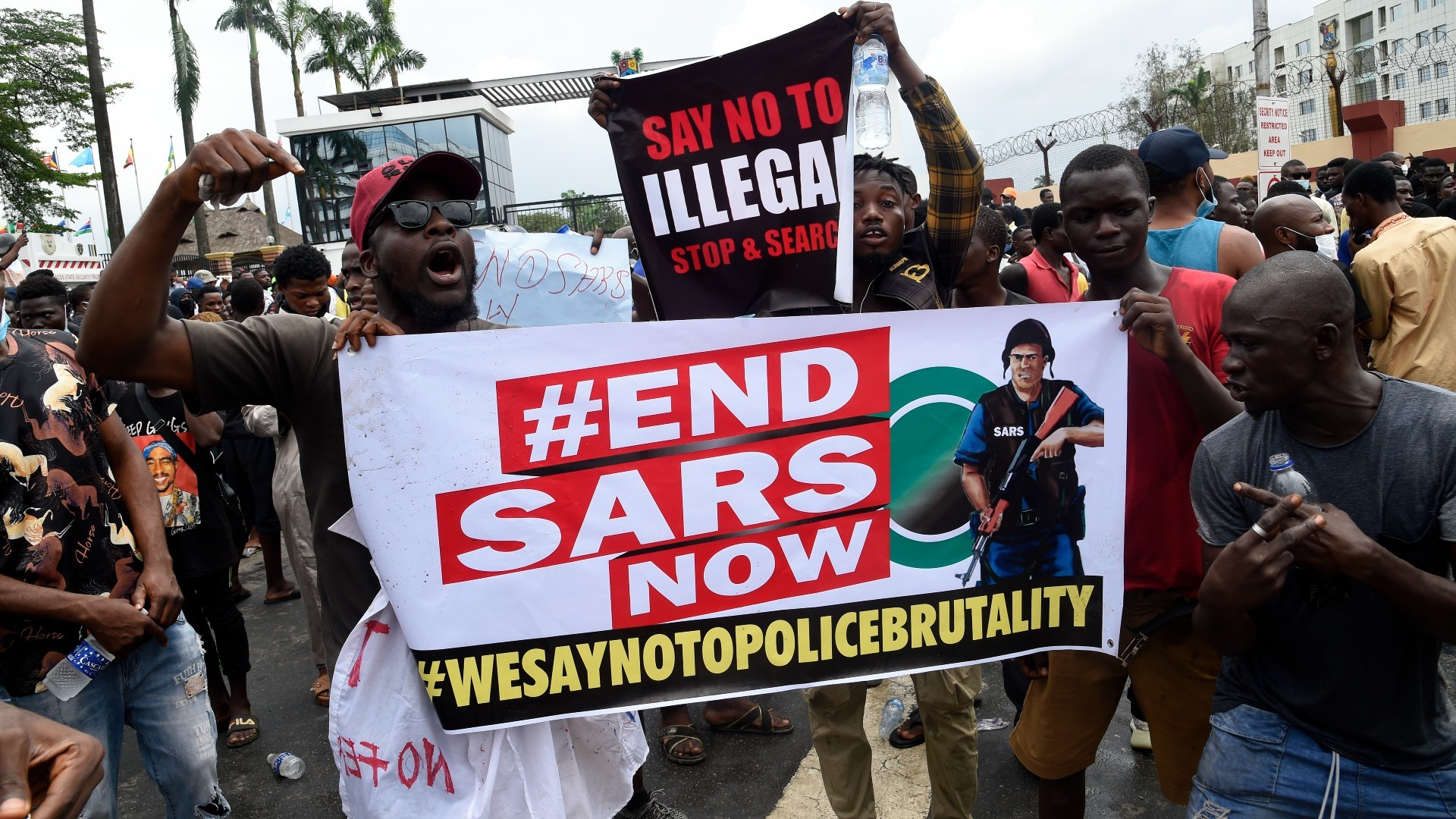 'Enough is enough': Nigerians demand SARS police unit scrapped