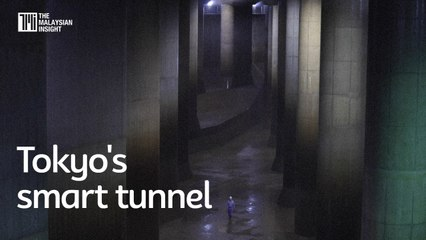 Tokyo's smart tunnel protects the city from flooding