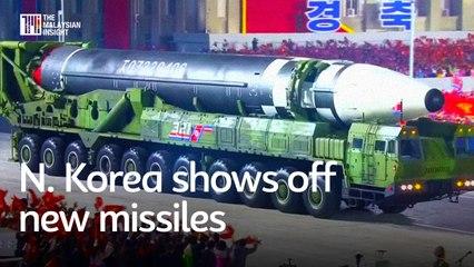 N. Korea unveils new intercontinental ballistic missiles