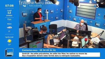 La matinale de France Bleu Occitanie du 12/10/2020