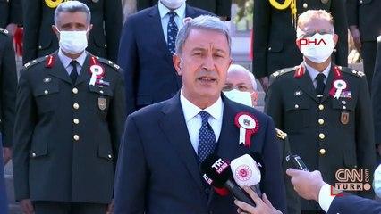 Son dakika... Bakan Akar'dan flaş Azerbaycan açıklaması: Bizim birbirimizden ayrılmamız mümkün değil | Video