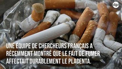 Fumer affecterait le placenta des femmes enceintes, même après l'arrêt