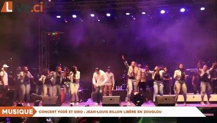 Concert Yodé et Siro : Jean-Louis Billon libère en zouglou