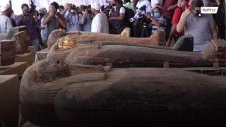 مصر: الكشف عن مومياء  تعود إلى 2500 عام