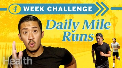 Running a Mile Every Day For a Month CHALLENGE | Can I Do It? | Health