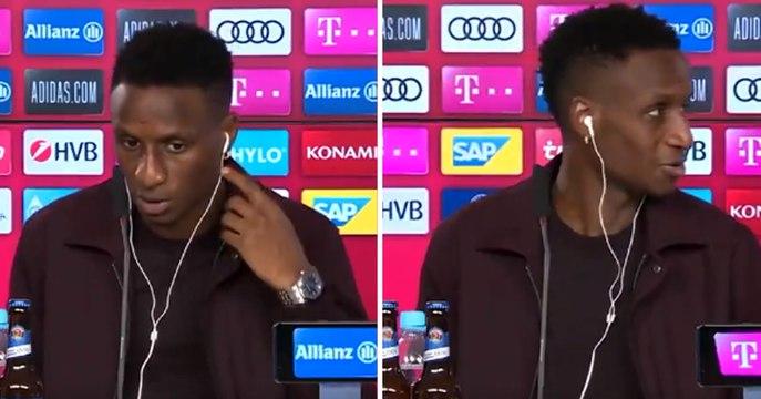 Le moment de malaise lors de la présentation de Bouna Sarr au Bayern Munich