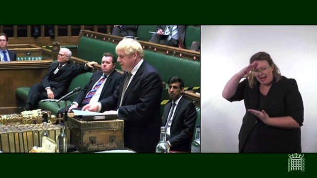 Boris Johnson announces three-tier lockdown plans