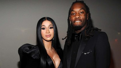 Cardi B & Offset Pack on the PDA for Her Birthday After Divorce News