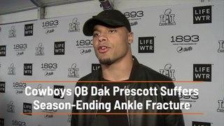 QB Dak Prescott Is Badly Hurt
