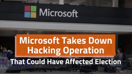 Microsoft Stops Political Hack
