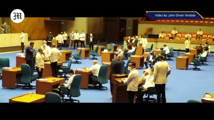 WATCH: Situation at House of Representatives | Oct. 13, 2020
