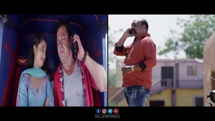 127B Movie Scenes - Saleem Pekku Kissing His Girlfriend In Auto | Silly Monks