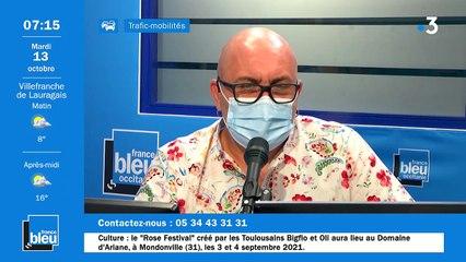 La matinale de France Bleu Occitanie du 13/10/2020