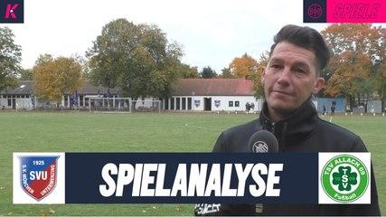 Spielanalyse | SV Untermenzing - TSV Allach 09 (Kreisliga 1)