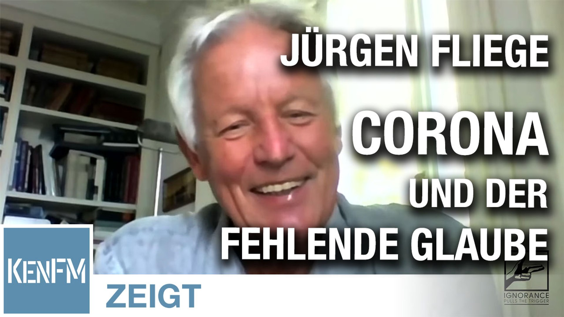 Jürgen Fliege – Corona und der fehlende Glaube