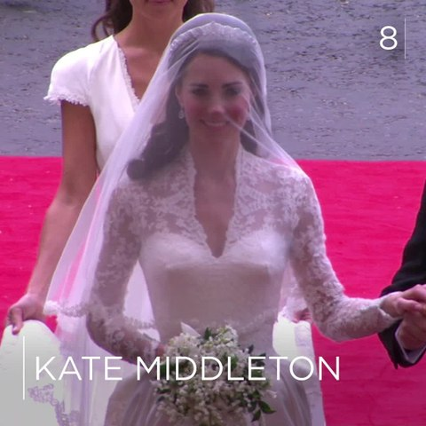 The most iconic wedding gowns of all time