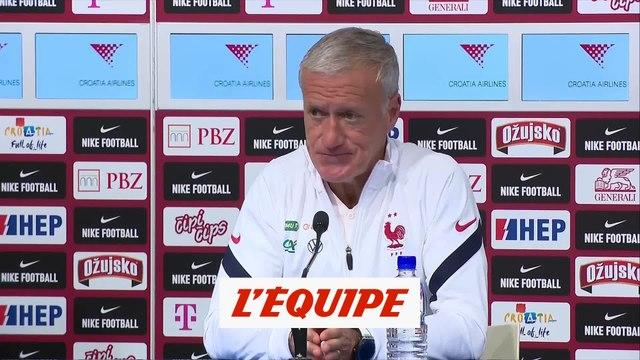 Deschamps : «Je sais ce que Griezmann est capable d'apporter» - Foot - Ligue des nations - Bleus