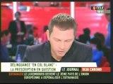 Sarkozy lave plus blanc les cols blancs