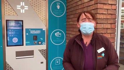 Rowlands Pharmacy in Gosport has a 24/7 prescription vending machine