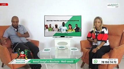 Amical Sénégal vs Mauritanie : Match annulé !