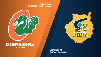 7Days EuroCup Highlights Regular Season, Round 3: Olimpija 84-68 Gran Canaria