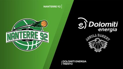 7Days EuroCup Highlights Regular Season, Round 3: Nanterre 65-71 Trento