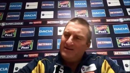Hull KR boss Tony Smith after last-minute 24-22 win over Salford Red Devils