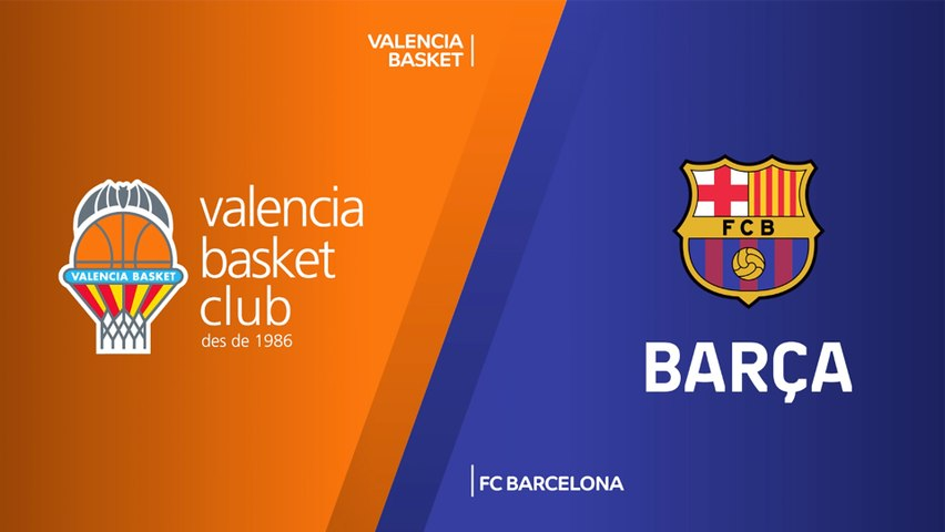 Valencia Basket - FC Barcelona Highlights | Turkish Airlines EuroLeague, RS Round 3
