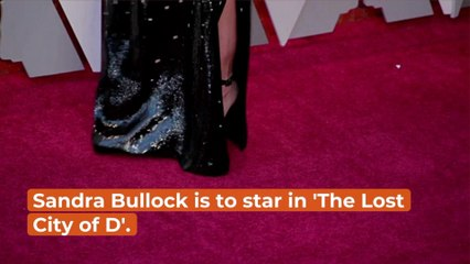 Sandra Bullock Lands Role In  'The Lost City of D'
