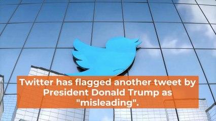 Twitter Flags Trump Again