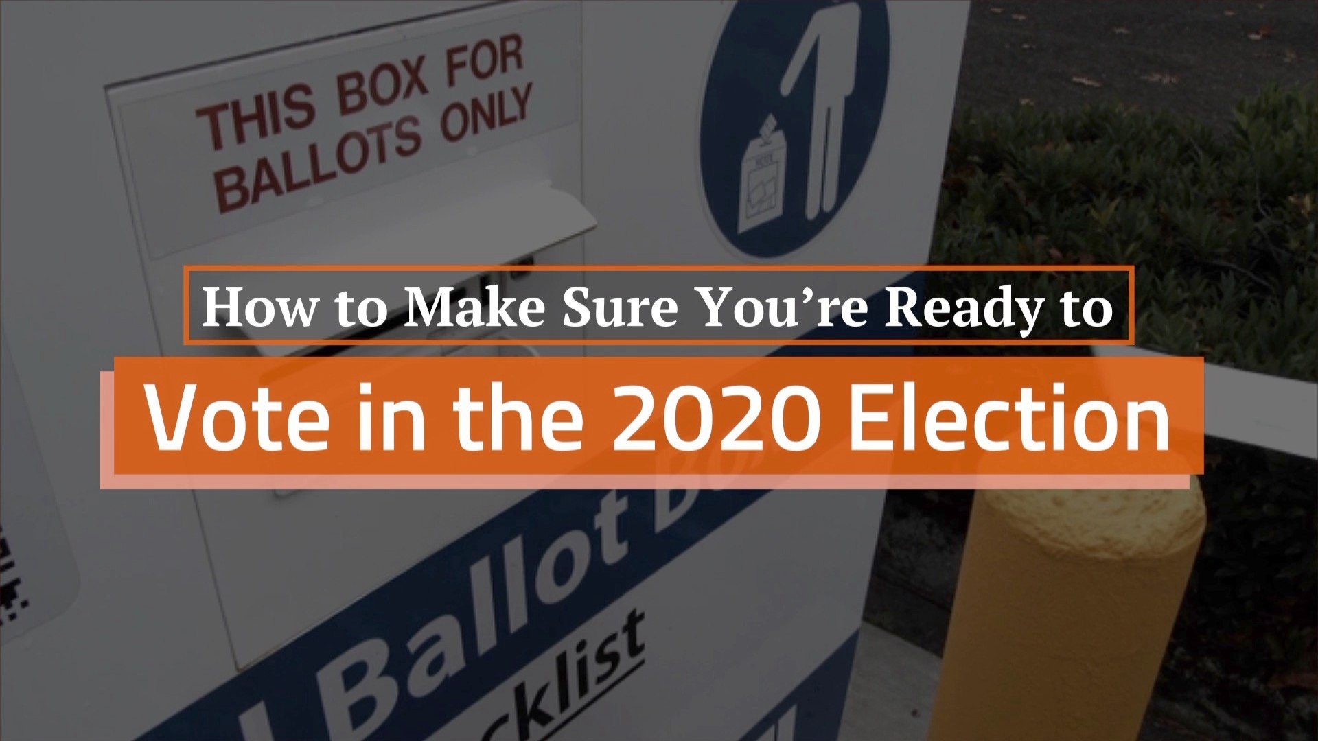 Prep For The 2020 Election