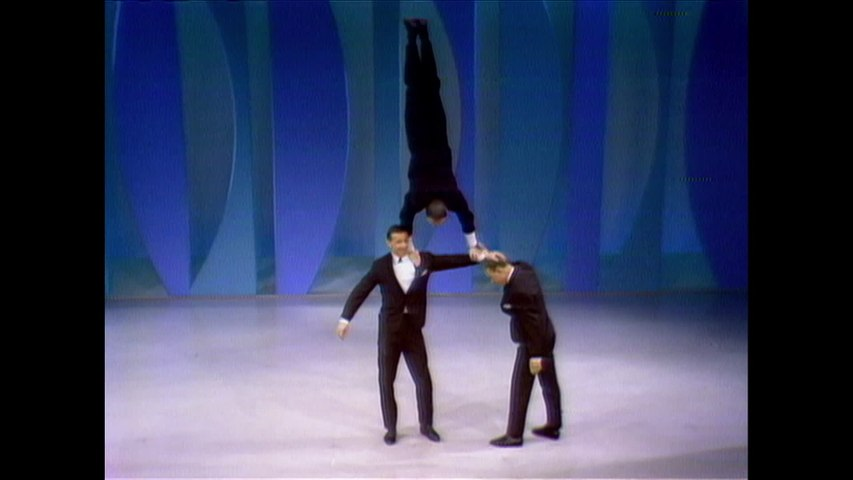 The Three Kims - Swedish Acrobats
