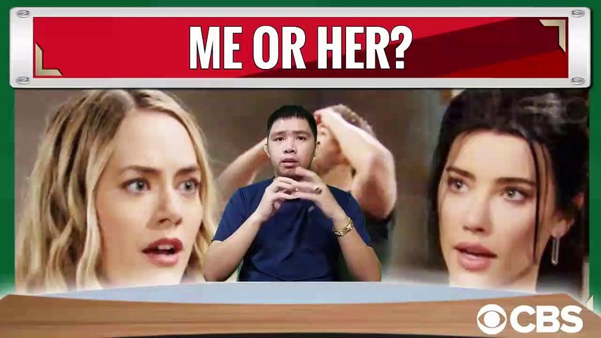 CBS The Bold and the Beautiful Spoilers Hope Forced Liam To Choose, She Or Steffy