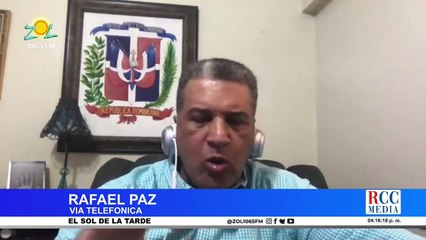 Rafael Paz como parte del equipo técnico de Danilo responde a las acusaciones de Luis Abinader