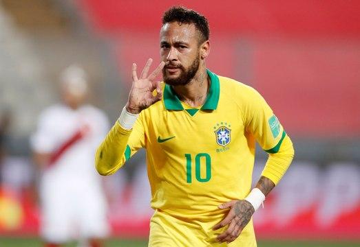 Brésil : Neymar dépasse Ronaldo avec son triplé !