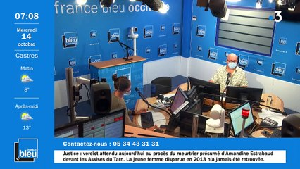 La matinale de France Bleu Occitanie du 14/10/2020