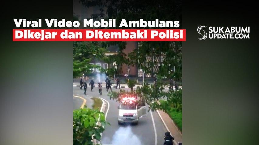 Viral Video Mobil Ambulans Dikejar dan Ditembaki Polisi