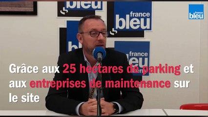 Didier Lefresne, le directeur de l'aéroport de Châteauroux