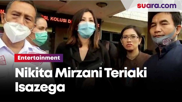 Bikin Heboh di Polres Metro Jakarta Selatan, Nikita Mirzani Panggil Isa Zega Bencong
