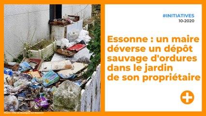 Essonne : un maire déverse un dépôt sauvage d'ordures dans le jardin de son propriétaire