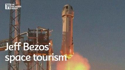 Jeff Bezos' company makes space tourism a reality