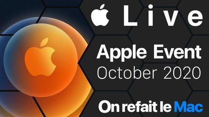 Live Apple Event October 2020 - iPhone 12, HomePod Mini, AirTags, Apple TV 6...⎜ORLM-384