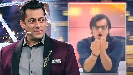 Salman Khan Indirectly TAUNTS Arnab Goswami