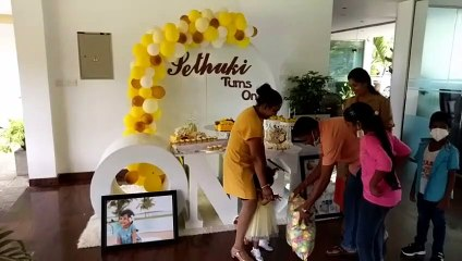 Sethuki 1st Birthday Teddy