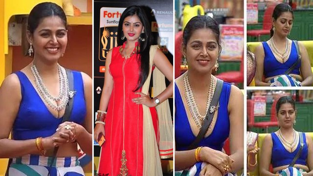 Bigg Boss Telugu 4: Monal Ghajjar Extra Glamour