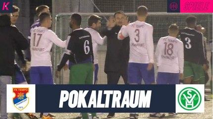 Vorjahresfinalist Tempo Frankfurt träumt von erneutem Pokalwunder | FC Tempo Frankfurt - SV 07 Heddernheim (1. Runde, Kreispokal Frankfurt)