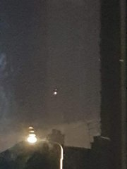 UFO sighting near Ineos in Grangemouth on October 12